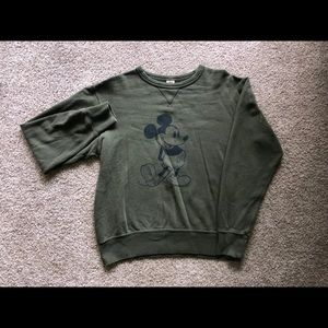 Mickey Mouse crewneck sweatshirt